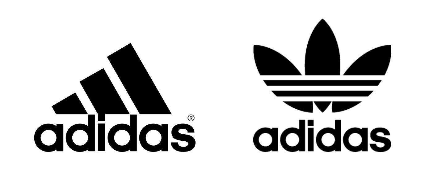 Logo adidas stripes adidas trefoil